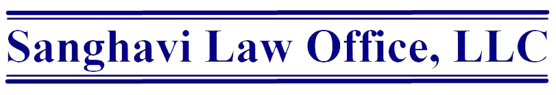 Sanghavi Law office Logo