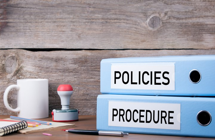 Internal Policy Review and Procedures